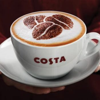 brand, business, organisaion, costa, coffee, coffee cup, customer, experience, costa coffee, customer service, standards, powers, email, social media, complain, praise, excellence, committment, staff, employees